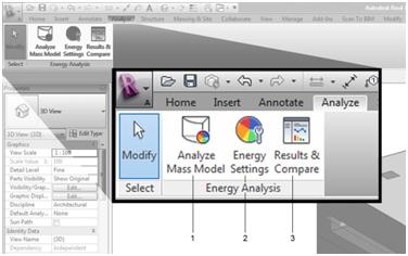 Revit Conceptual Energy Analysis